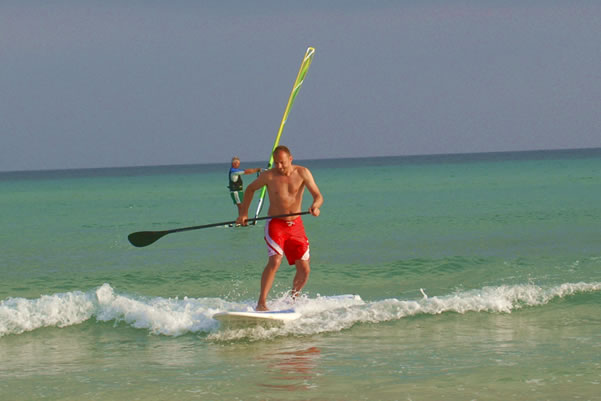 Stand up paddle surfen fuerteventura